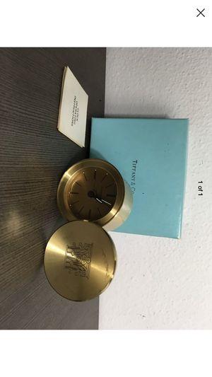 Tiffany alarm clock ⏰ authentic piece for Sale in North Miami Beach, FL