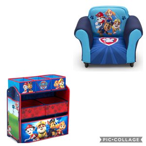 Paw Patrol Chair And Toy Storage for Sale in Chicago, IL