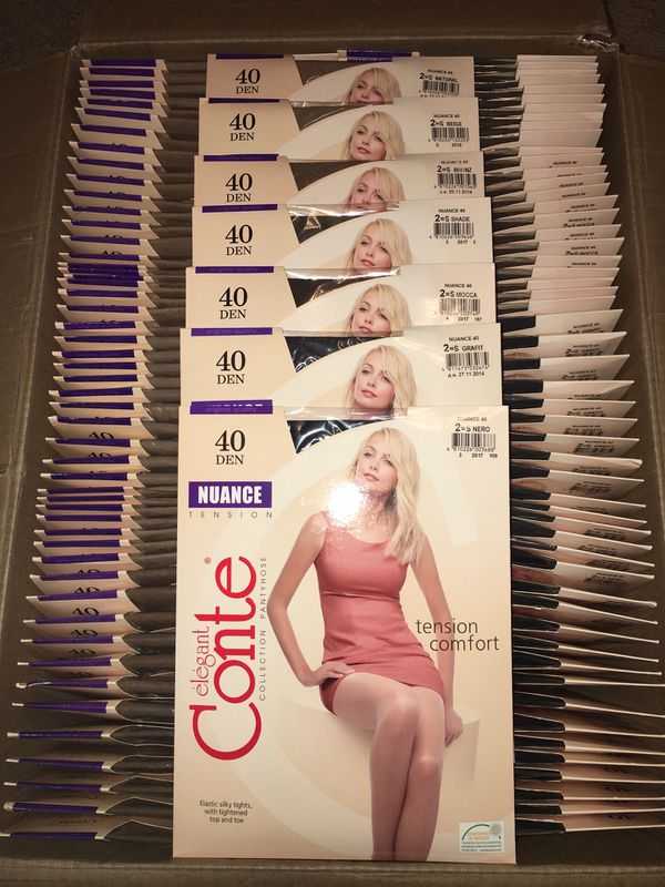 Conte Nuance Pantyhose (40 Den) - Any 5 pairs - Made in Belarus