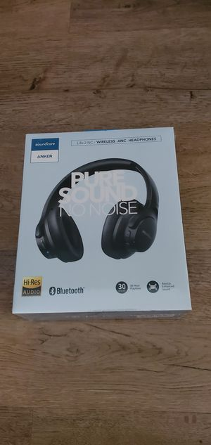 New Soundcore Life 2 Active Noise Cancelling Over-Ear Wireless Headphone for Sale in St. Petersburg, FL