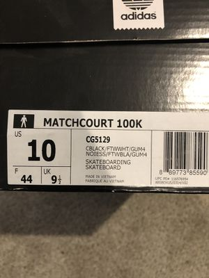 Adidas Matchcourt size 10 for Sale in Portland, OR