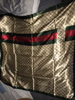 Gucci Silk Scarf for Sale in Wahneta, FL