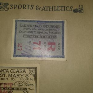 California vs Standford 1923 for Sale in San Francisco, CA