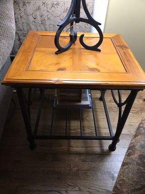 Coffee Table & Side Table - Sold as a set for Sale in Naperville, IL
