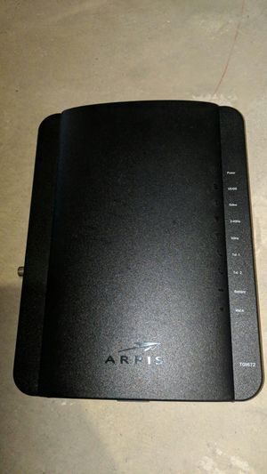 Arris Tg1672g Wireless Telephone Gateway Cable Modem for Sale in Hamilton, OH