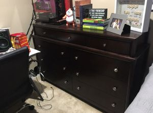 Wood Dresser and Nightstand for Sale in Washington, DC