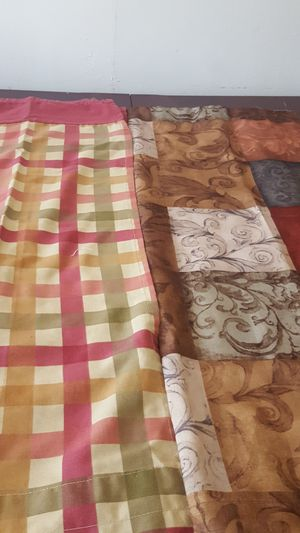 Kitchen curtains for Sale in Framingham, MA