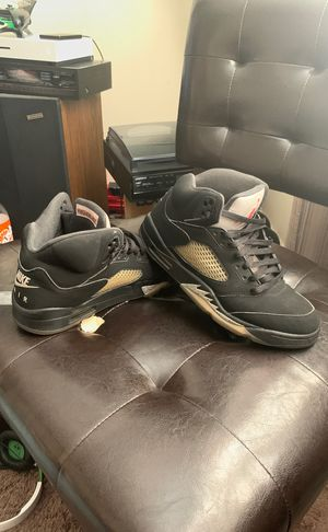 Metallic retro Jordan 5 for Sale in Columbus, OH