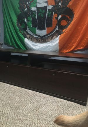 Dark Brown TV Stand for Sale in Pittsburgh, PA