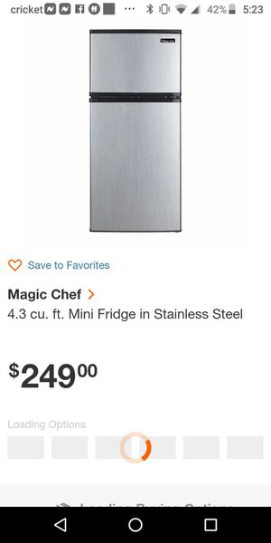 MasterChef fridge and freezer for Sale in Portland, OR