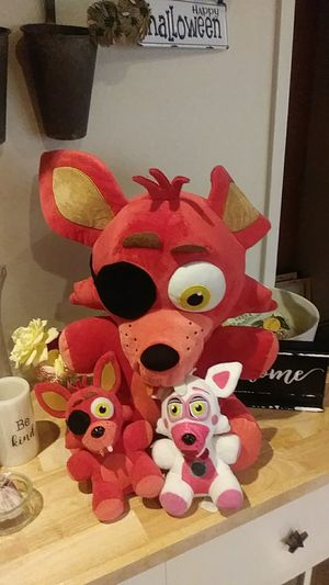 FNAF Stuffed Collection for Sale in Suisun City, CA