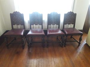 Jacobean antique chairs for Sale in Detroit, MI