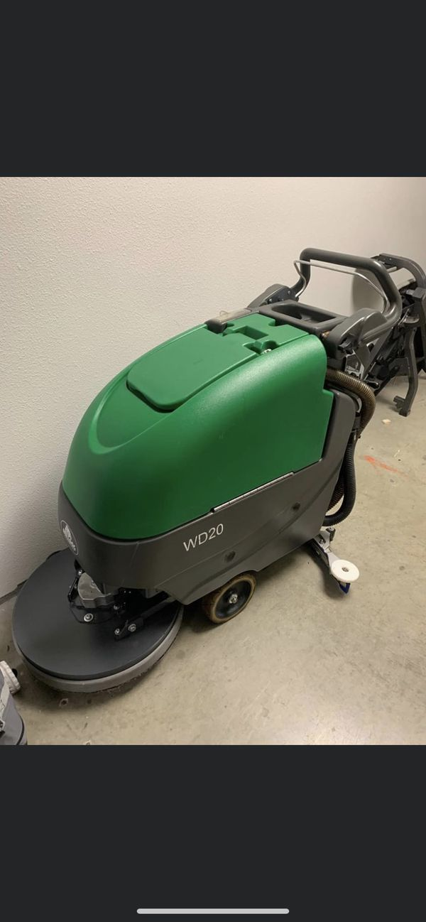 Factory Cleaning equipment Bulldog WD20 floor scrubber