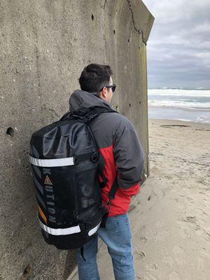 Lazarus 70L .9mm Radio welded waterproof backpack for Sale in San Luis Obispo, CA