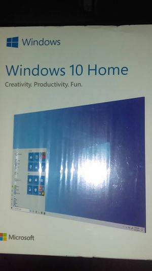 Windows 10 Home Edition for Sale in Redlands, CA