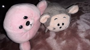 Ty Beanie Baby Seal & Bun Bun Mouse Plushes for Sale in Winston-Salem, NC