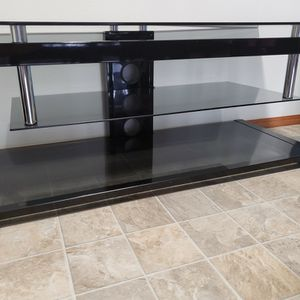 Glass Tv Stand for Sale in Vancouver, WA