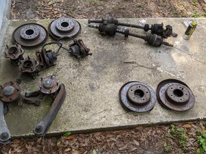 89-98 240sx s13 s14 Silvia 300zx control arms, 5 lug hubs, rotors, knuckles, vlsd diff, spindles, dust shield, F&R calipers for Sale in Odessa, FL