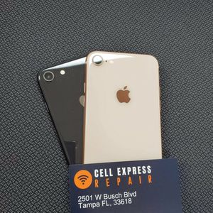 Iphone 8 Unlocked Like New Condition With 30 Days Warranty for Sale in Tampa, FL