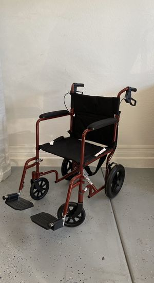 Medline Transport Chair/ Lightweight Wheelchair BRAND NEW for Sale in Peoria, AZ