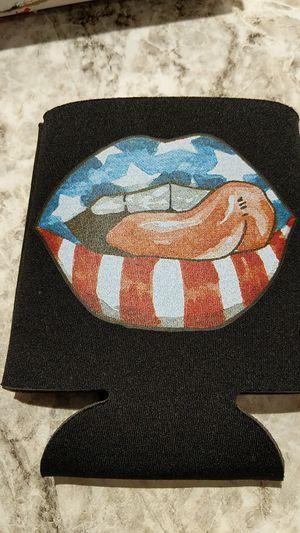 Lips screen print koozie for Sale in Hazelwood, MO