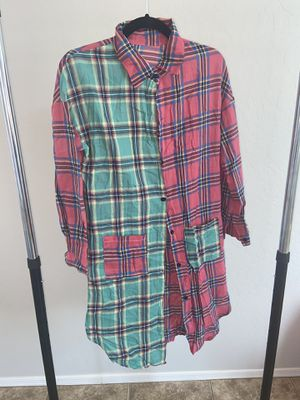 Flannel Dress for Sale in Avondale, AZ