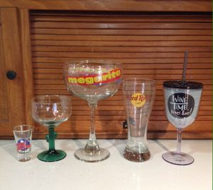Assorted glasses for Sale in Fresno, CA