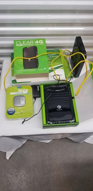 Internet modem stuff for Sale in Seattle, WA