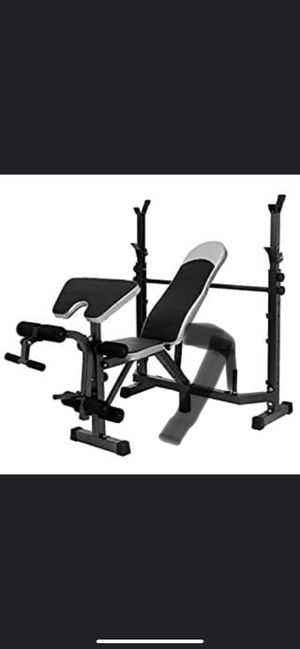 NEW****Olympic Weight Bench with Preacher Curl, Leg Developer, Multi-Functional Weight Bench Set for Sale in Nashville, TN