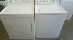 Kenmore washer and dryer with warranty for Sale in Fresno, CA