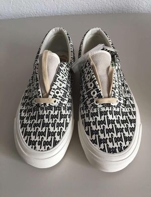 Fear of god vans for Sale in New York, NY