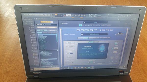 Lenovo Music Production Laptop - Intel i3 - 320GB HDD - 4GB Ram - Webcam - Bluetooth Speaker and more...