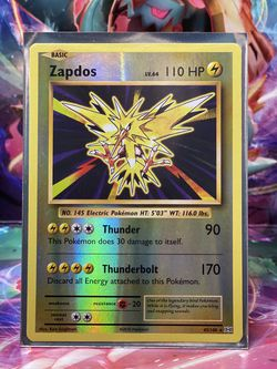 Zapdos Reverse Holo for Sale in Upland,  CA