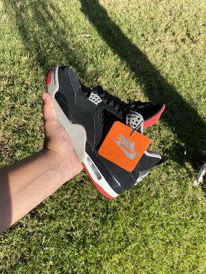 Jordan Bred 4 for Sale in Perris, CA