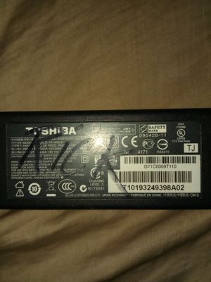 Toshiba charger for Sale in Stockton, CA
