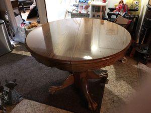 Oak dining set for Sale in Toms River, NJ