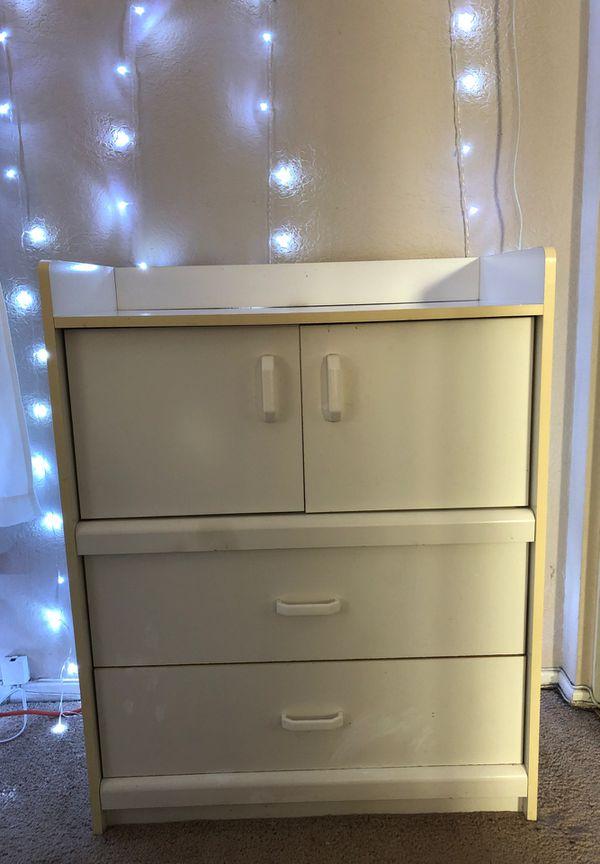 Dresser with doors