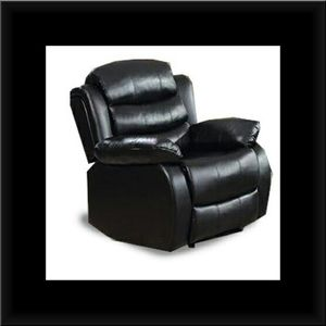 Black recliner chair for Sale in Brentwood, MD