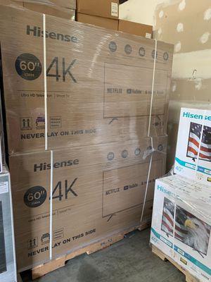 HISENSE 60 INCHES 4K SMART UHD !!!@@@ for Sale in Diamond Bar, CA