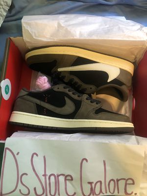 TRAVIS SCOTT x JORDAN 1 LOW for Sale in Los Angeles, CA