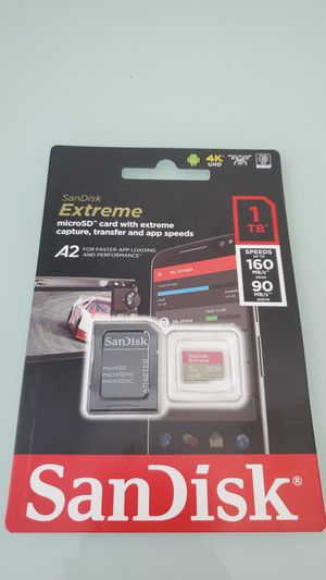 Sandisk Extreme 1TB Micro SD Card for Sale in Riverview, FL