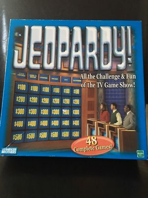 Classic Jeopardy Board Game for Sale in Charlotte, NC