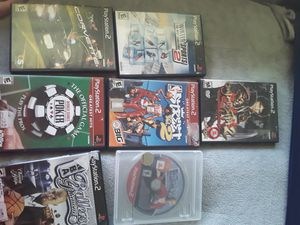Ps2 games for Sale in Oklahoma City, OK
