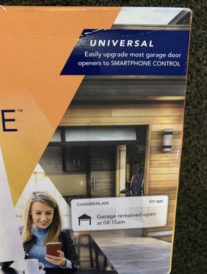 Smart garage door opener wireless and WiFi enabled for Sale in San Antonio, TX