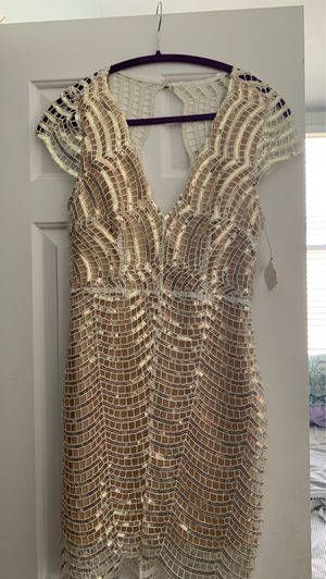 Akira Sequin Lace Party Dress- Medium for Sale in Chicago, IL