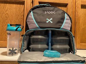NEW Jaxx Fitpak Meal Prep insulated Backpack $25!! for Sale in Fresno, CA