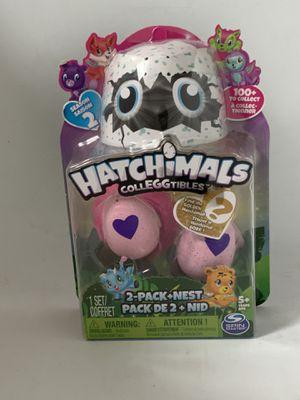 Hatchimals CollEGGtibles SEASON TWO 2-PACK & bonus w/ GOLDEN HATCHIMAL CHANCE for Sale in Seattle, WA