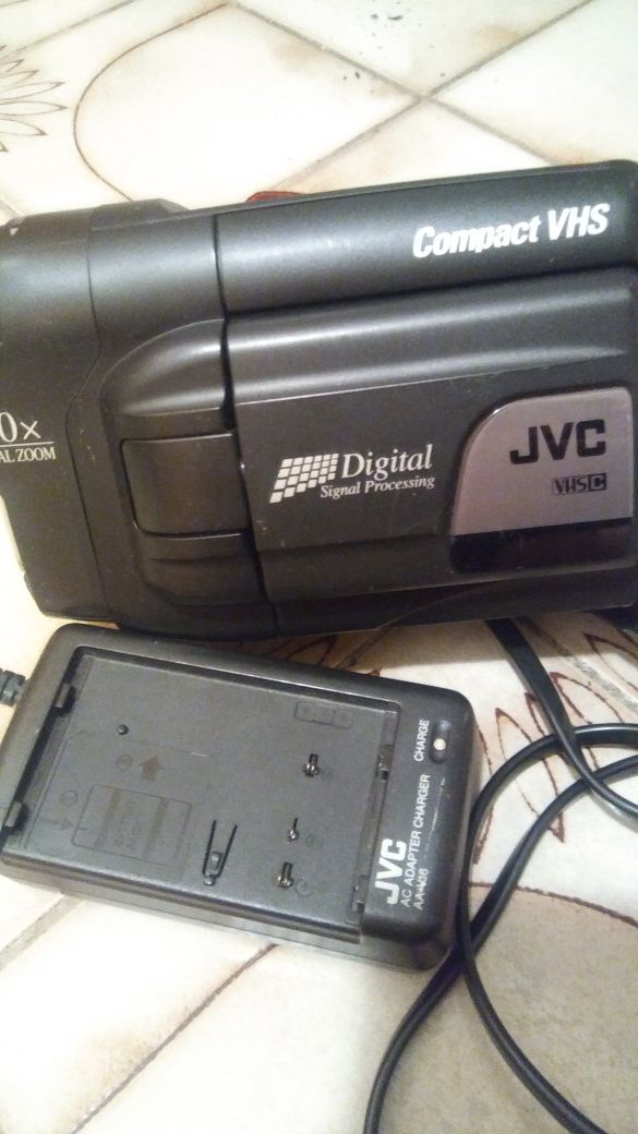 Old camcorders JVC - Panasonic