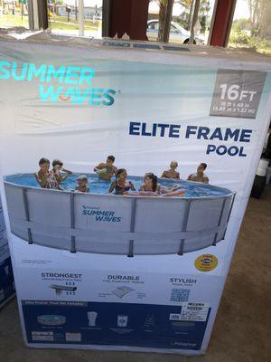 Elite Frame Pool 16ft for Sale in Frostproof, FL