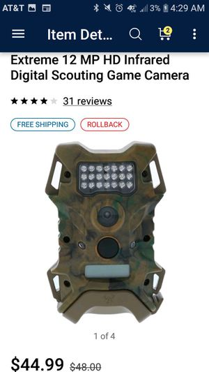 Wildgame Camera 12MP for Sale in Houston, TX